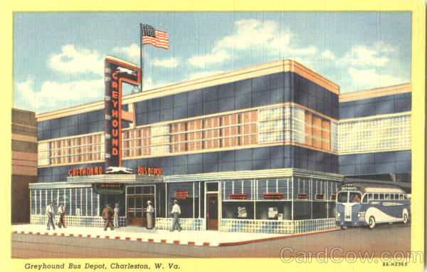Greyhound Bus Depot Charleston West Virginia