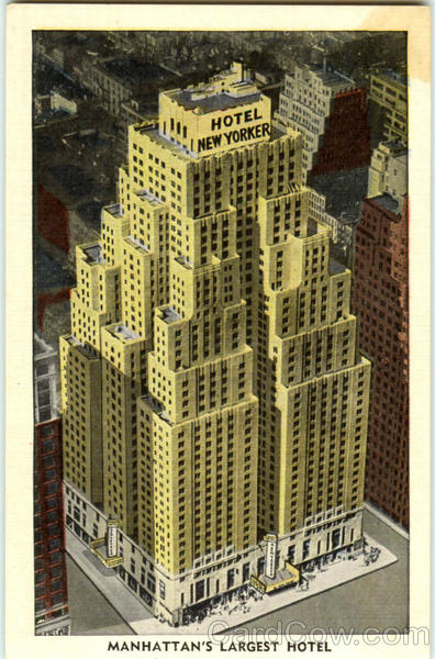 Manhattan's Largest Hotel, 34th street at eighth avenue New York