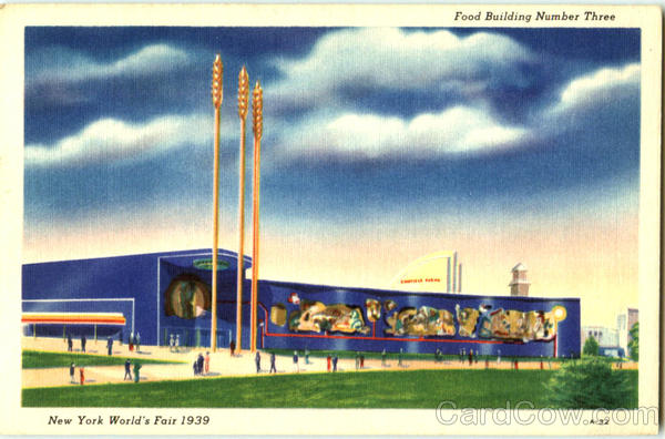 Food Building Number Three 1939 NY World's Fair
