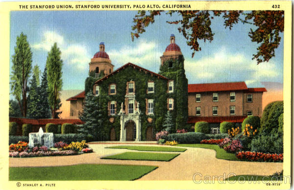 The Stanford Union, Stanford University Palo Alto California