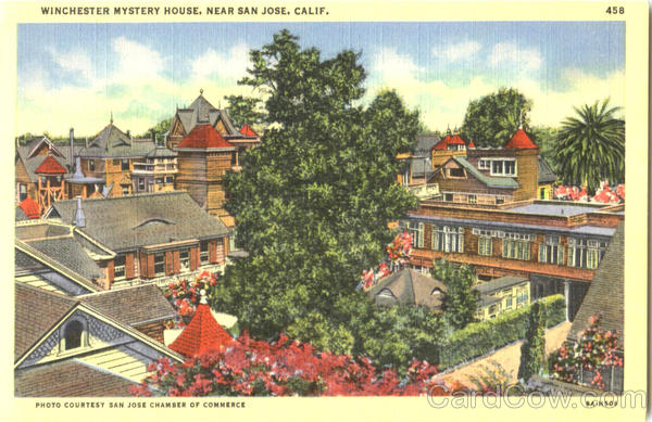 Winchester Mystery House San Jose California