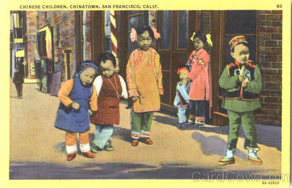 Chinese Children, Chinatown San Francisco California