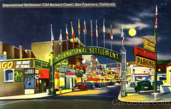 International Settlement San Francisco California