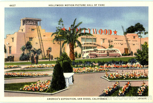Hollywood Motion Picture Hall Of Fame San Diego California
