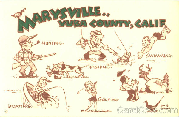 Maryville Yuba County California