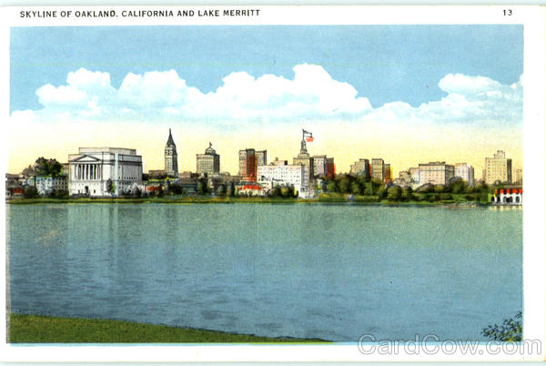 Skyline Of Oakland California