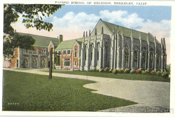 Pacific School Of Religion Berkeley California