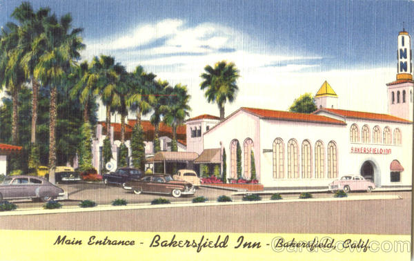Main Entrance Bakersfield Inn California