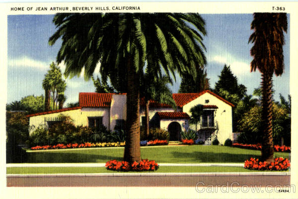Home Of Jean Arthur Beverly Hills California