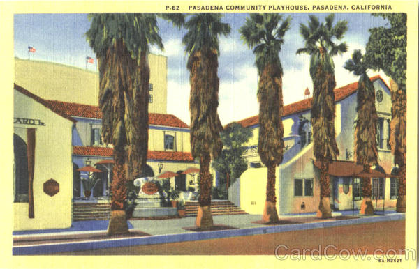 Pasadena Community Playhouse California