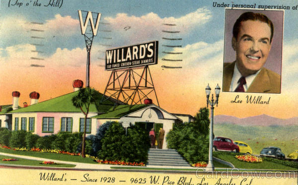 Willard's, 9625 W.Pico Blvd Los Angeles California