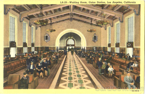 Waiting Room Union Station Los Angeles California