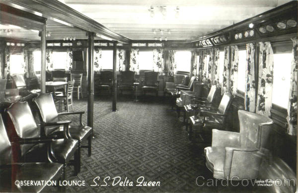 Observation Lounge S. S. Delta Queen Boats, Ships