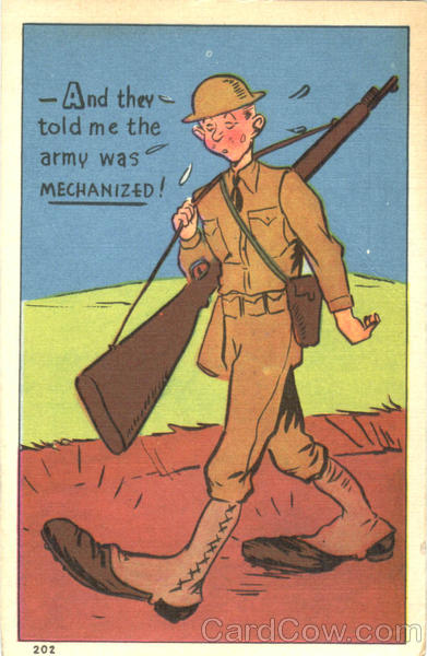 And They Told Me The Army Was Mechanized! Comic