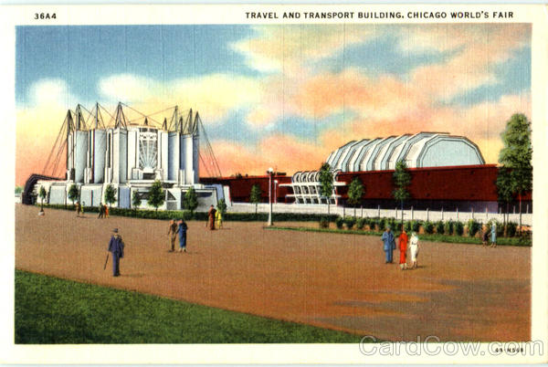 Travel And Transport Building 1933 Chicago World Fair