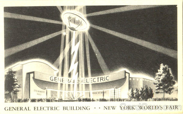 General Electric Building 1939 NY World's Fair
