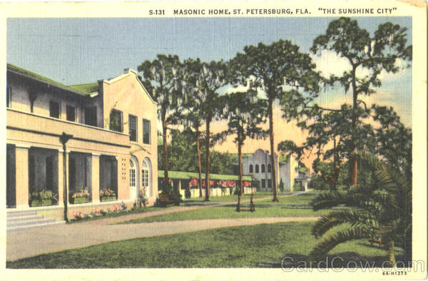 Masonic Home St. Petersburg Florida Freemasonry