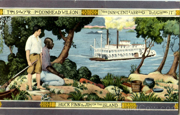 Mural In Mark Twain Hotel Elmira New York