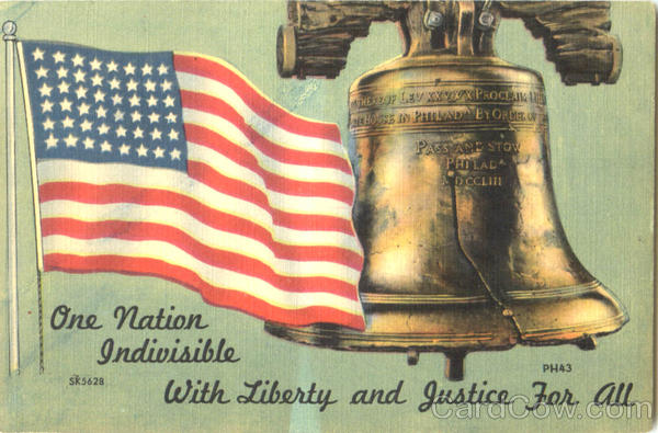 One Nation Indivisible With Liberty And Justice For All