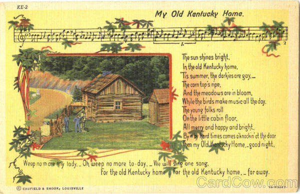 The Old Kentucky Home Lyrics