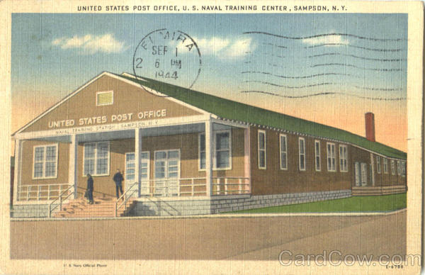United States Post Office Sampson New York