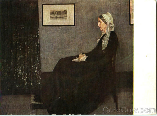 Portrait of the Buthor's mother J. M. N. Whistler Art