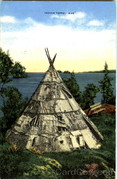 Indian Tepee Native Americana