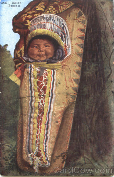 Indian Papoose Native Americana