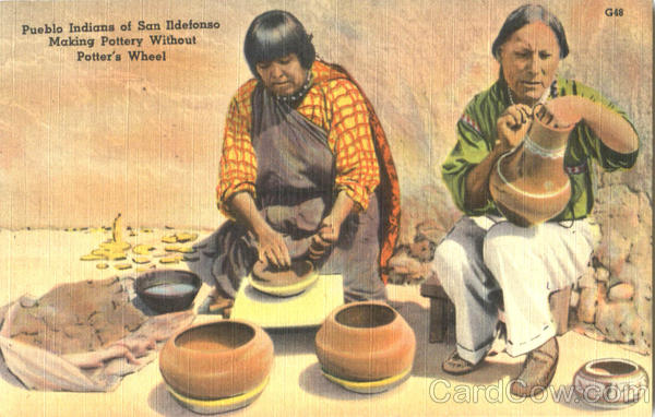 Pueblo Indians Of San Ildefonso Native Americana