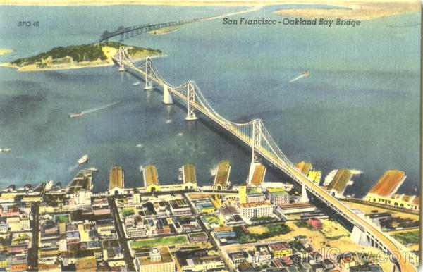 San Francisco- Oakland Bay Bridge California