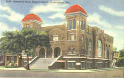 Sixteenth Street Baptist Church Postcard