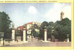 Sather Gate , University Of California