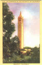 The Campanile Of The University Of California