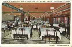 Portion Of Famous Hotel Rosslyn Dining Room, Fifth And Main Streets