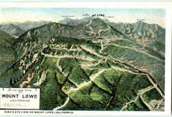 Birds Eye View Of Mount Lowe