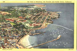 Air View Of Monterey