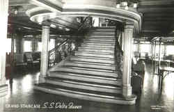 Grand Staircase S. S. Delta Queen