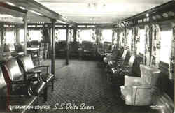 Observation Lounge S. S. Delta Queen