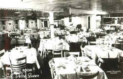 Dining Room S. S. Delta Queen