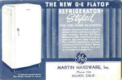 The New GE Flatop Refrigerator