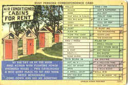 Busy Person's Correspondence Card - outhouses