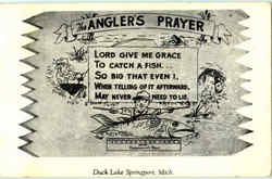 The Angler's Prayer