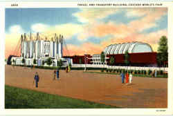 Travel And Transport Building Postcard