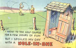 Hole In One - outhouse