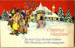 Christmas Greetings - Caroling