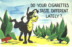 Do Your Cigarettes Tastes Different Lately?