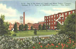 One Of The Plants Of Liggett And Myers Tobacco Company