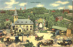 "Shrine Church - ""Roadside America"" Postcard"