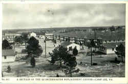 A Section Of He Quartermaster Replacement Center
