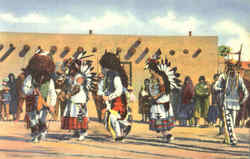 The Buffalo Dance Of The Pueblo Indians